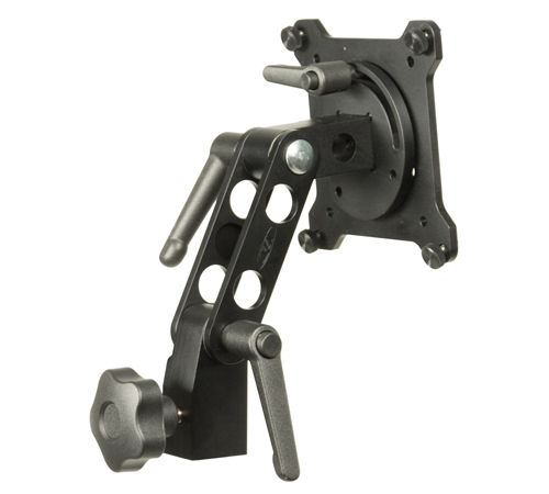 VESA to Light/C-Stand Adapter with Landscape/Portrait Swing