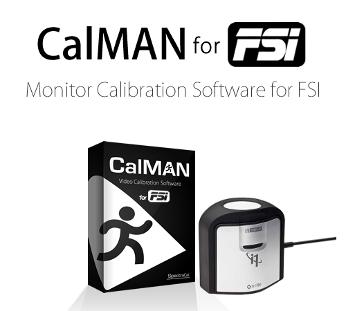 CalMAN FSI with Basic Probe